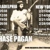 Chase Pagan Announces New York and Philly Runs