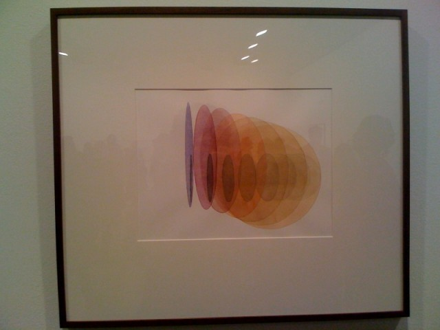 Olafur Eliasson Upstairs Drawing