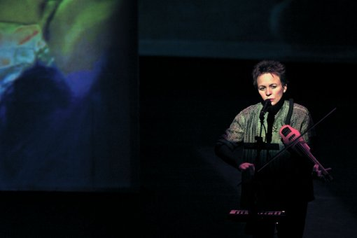 Laurie Anderson's Latest Show Opens at BAM, Brooklyn