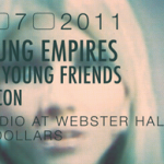 Young Empires, The Young Friends, Beacon at Studio at Webster Hall 4.7.2011