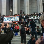 Revolt Occupy at Courthouse Steps
