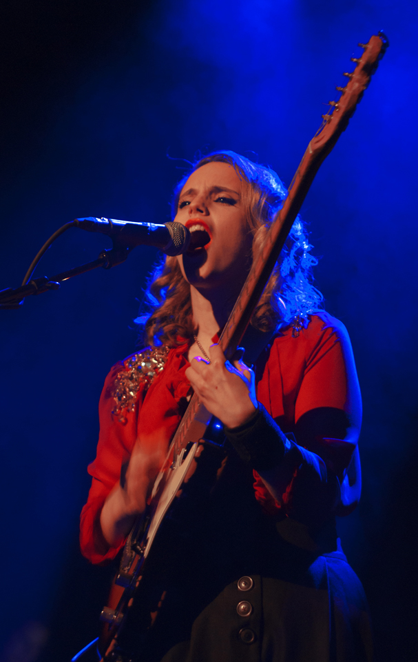 Anna Calvi live at Brooklyn Vegan Holiday Party