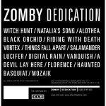 Zomby - 'Dedication'